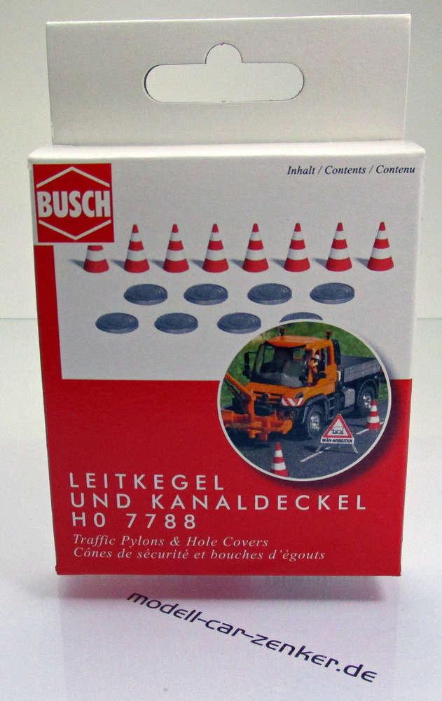 Busch 7788 Kanaldeckel Leitkegel