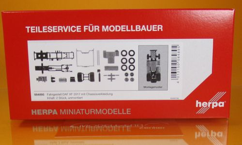 Teileservice Fahrgestell DAF XF (2017) mit CV (1:87)
