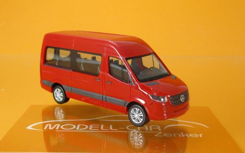 Mercedes-Benz Sprinter (2018) Kombi HD, rot (1:87)