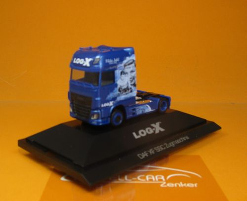 "DAF XF SSC Zugmaschine ""Log-X / The Boxer"" (CZ) (PC) 1 87"