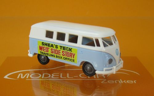 "VW Kombi T1b ""Ticketverkauf West Side Story"""