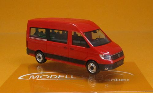 VW Crafter Bus HD rot 1:87