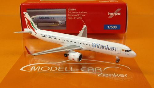 SriLankan Airlines Airbus A321neo - 4R-AND (1:500)