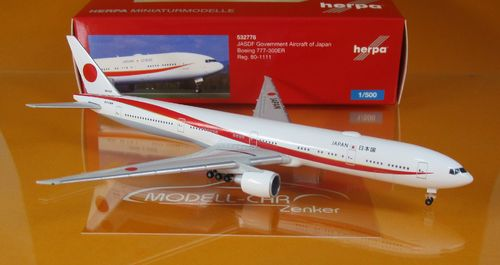 Japan Air Self Defence Force Boeing 777-300ER (1:500)