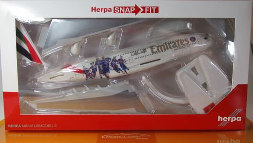 "Emirates Airbus A380 ""Paris St. Germain"" - Scale 1 250"