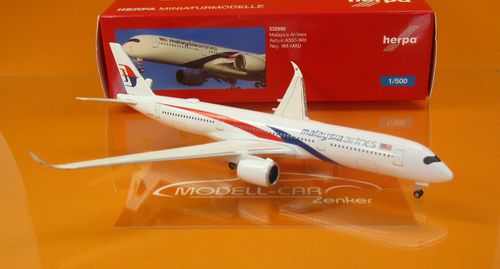 Malaysia Airlines Airbus A350-900 - 9M-MAD (1:500)