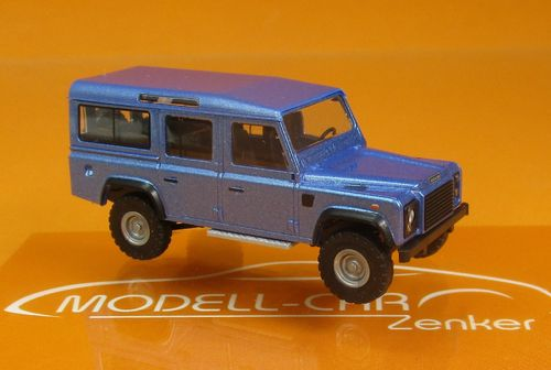Land Rover Defender 110 blaumetallic 1:87