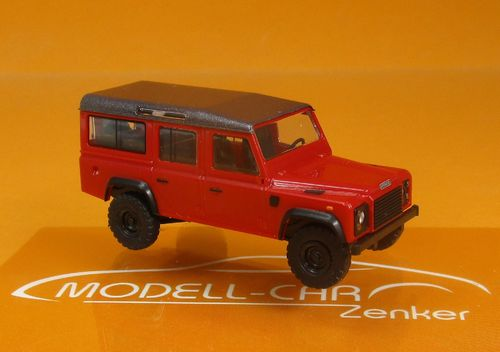 Land Rover Defender 110 rotmetallic 1:87