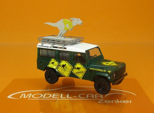 Land Rover Defender 110 Roadsign AUS 1:87