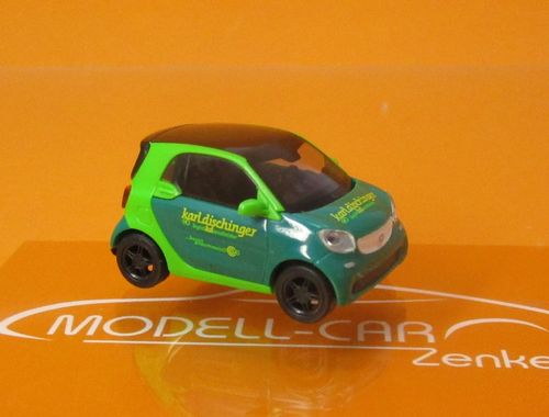 Smart Fortwo 2014 Spedition Dischinger 1:87
