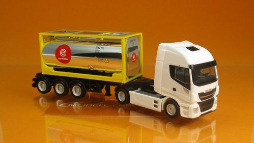 Iveco Stralis XP Tankcontainer SZ Eurotainer 1:87