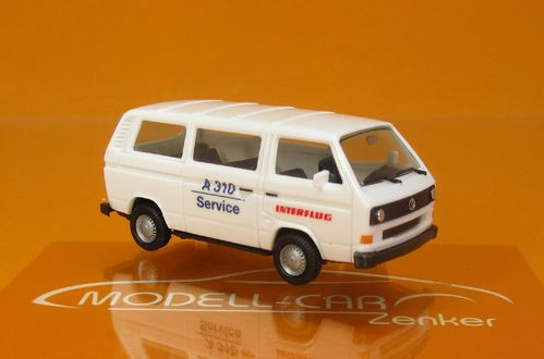 VW T3 Bus Interflug 1:87