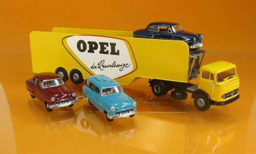"MB LPS 338 Autotransporter ""Opel"" 3 Olympia 1:87"
