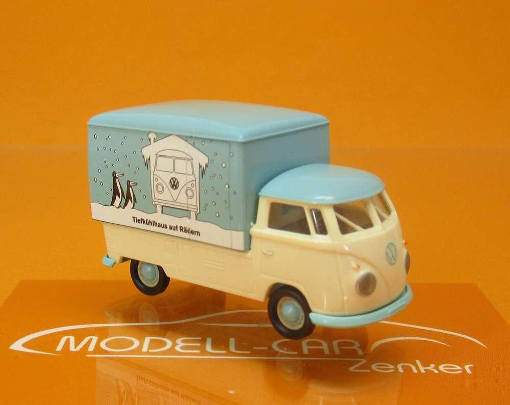 Brekina 32455 VW T1b Kofferaufbau VW Werbung 1:87