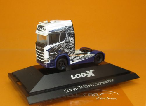 Scania CR 20 HD SZ Log-X / No Limit 1:87