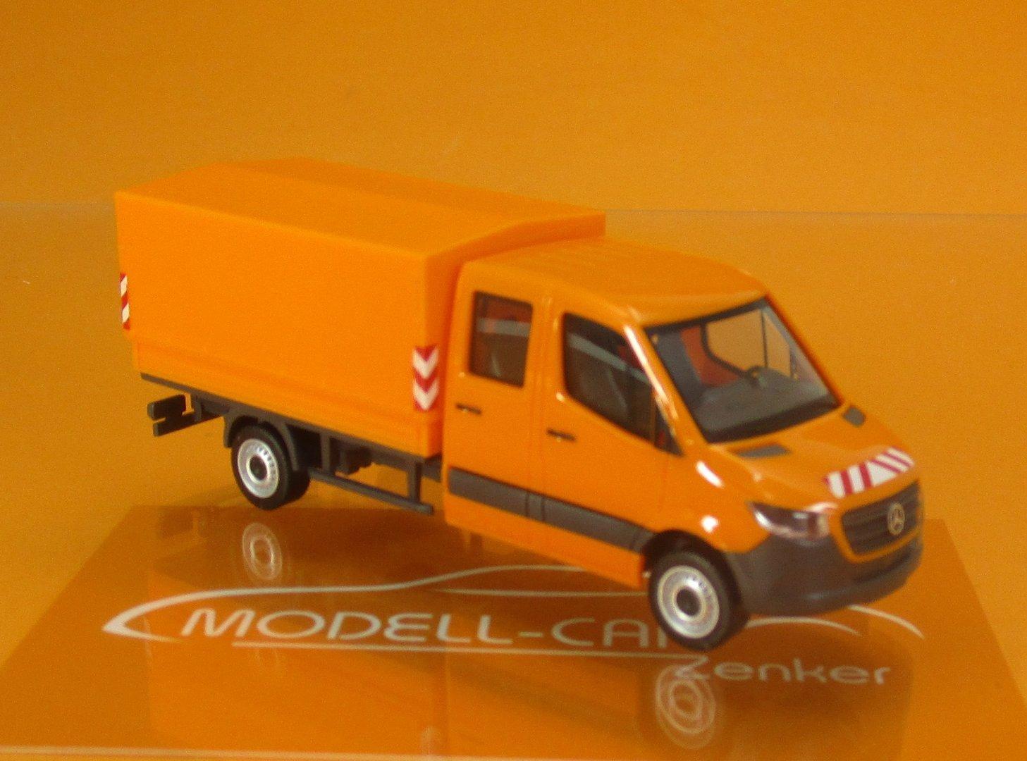Mercedes VARIO Doppelkabine Kleintransporter Kommunal Herpa 043939 1:87 NEU
