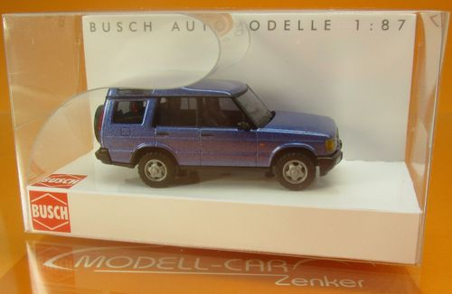 Land Rover Discovery II blaumet. 1:87