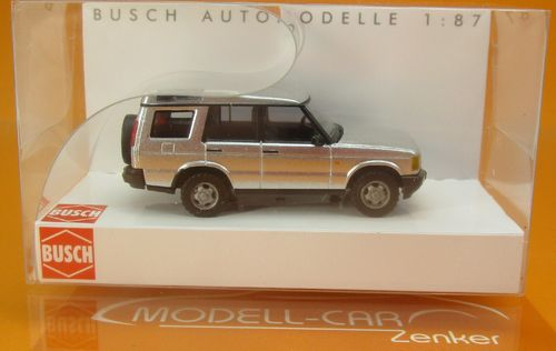 Land Rover Discovery II silbermet. 1:87