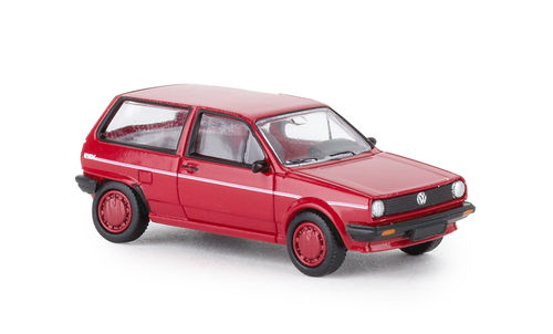 VW Polo II Fox (1981) rot 1:87
