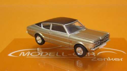Ford Taunus Coupe GXL gold schwarz 1:87