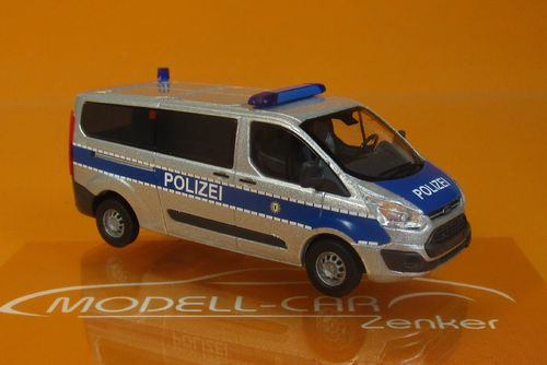 Ford Transit Custom Bus Polizei Berlin 1/87