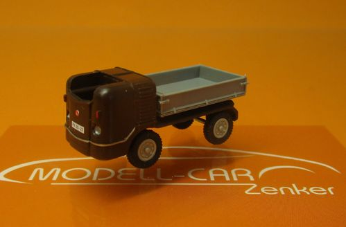 Multicar M 21 Kipper Exquisit Dunkelbraun 1:87