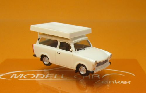Trabant Kübel GST Ost mit abnehmbarem Dach H0 1//87 Herpa Modell Auto mit oder oh