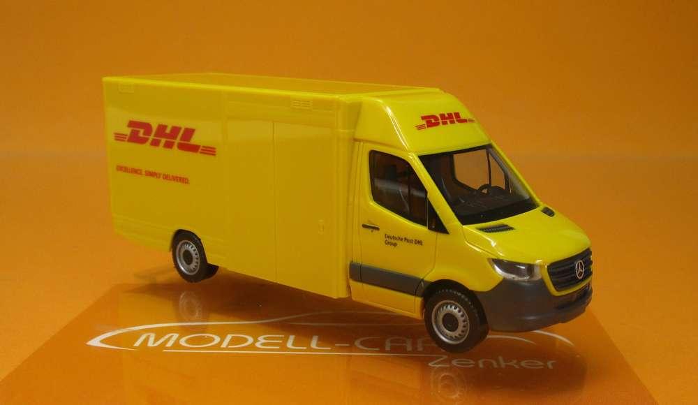 Herpa MB Sprinter 18 HD Paketverteilfahrzeug DHL 095297