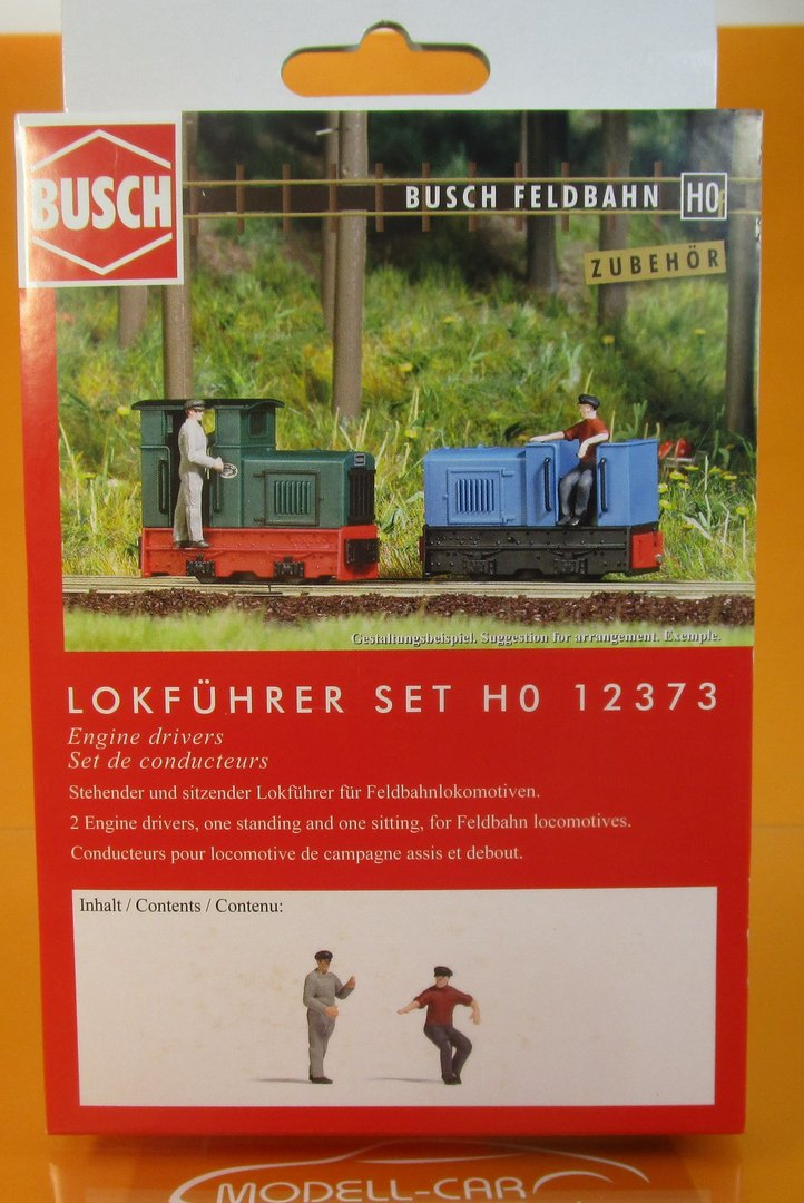 Busch 12373 Lokführer-Set H0