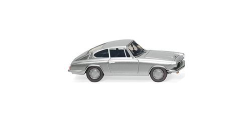 BMW 1600 GT Coupé silber-metallic 1:87
