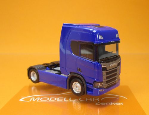 Scania CR20 Highline SZM ultramarinblau 1:87