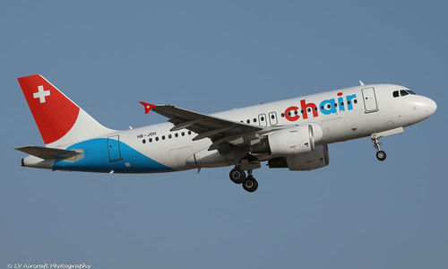 Chair Airlines Airbus A 319 1:200