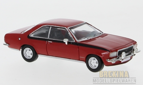 Opel Commodore B Coupe rot 1972 1:87