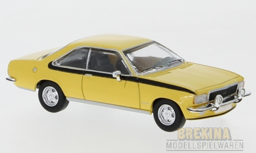 Opel Commodore B Coupe gelb 1972 1:87