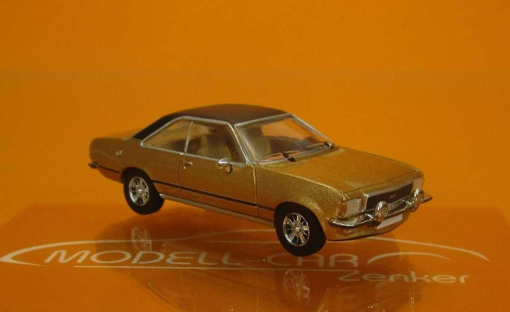 H0 BREKINA PCX87 Opel Commodore B Coupe rot schwarz Premium ClassiXXs # 870036