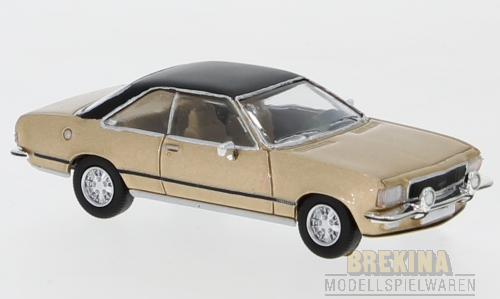 Opel Commodore B Coupe hellbraun 1972 1:87