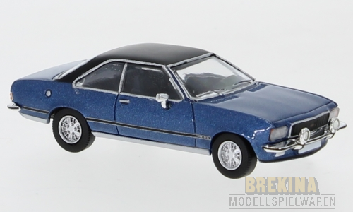 Opel Commodore B Coupe blaumet. 1972 1:87