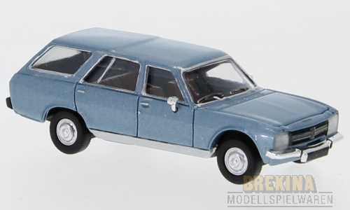 Peugeot 504 Break (1978) hellblau met. 1:87