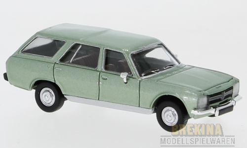 Peugeot 504 Break (1978) hellgrün met. 1:87