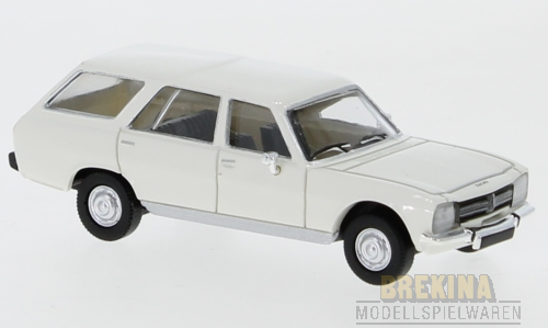Peugeot 504 Break (1978) weiss 1:87