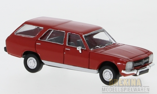 Peugeot 504 Break (1978) rot 1:87