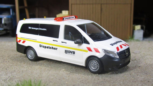 Mercedes Vito Dispatcher DVB Dresden 1 /87