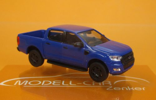 Ford Ranger Pick-up blau 1:87