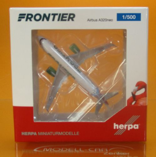Frontier Airlines Airbus A320neo N308FR 1:500