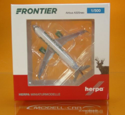 Frontier Airlines Airbus A320neo - N301FR 1:500
