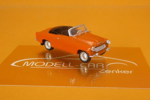Skoda Felicia Cabriolet orange Starline 1:87