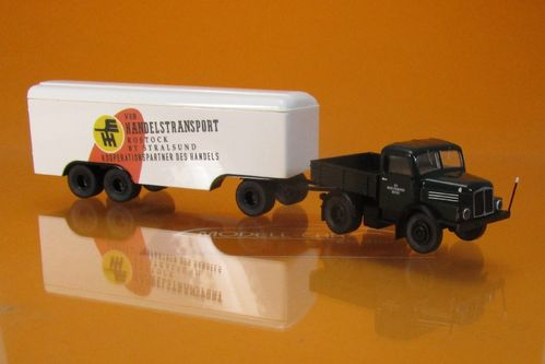 IFA S 4000-1 ZGM Kofferanh. Handelstransport 1:87