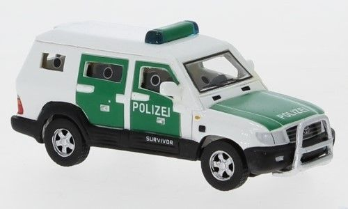 Toyota Land Cruiser Survivor (2004) Polizei 1:87